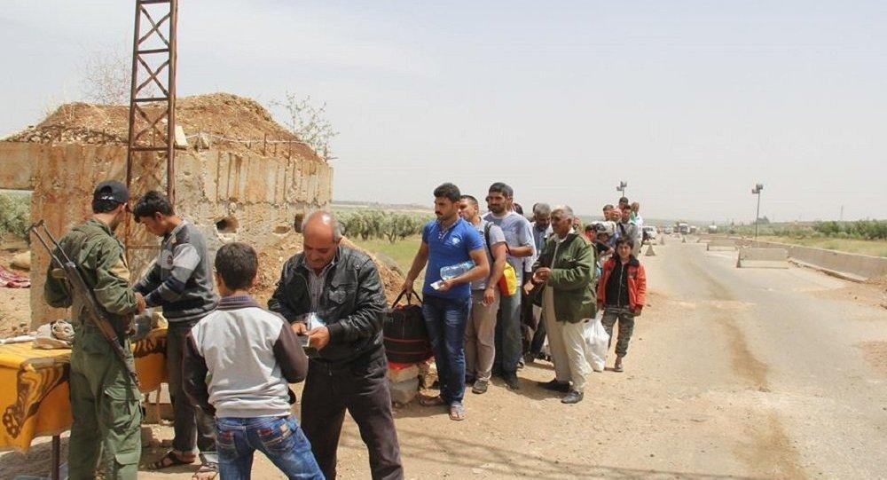 نزوح السوريين إلى عفرين