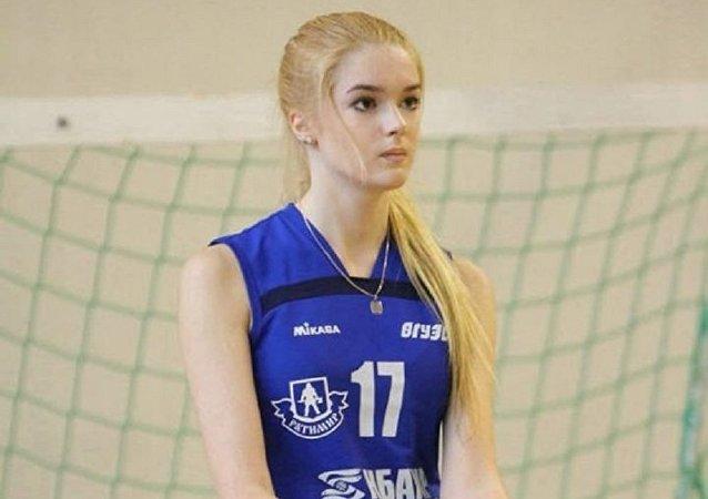 شاهد أجمل لاعبة كرة طائرة روسية فى العالم