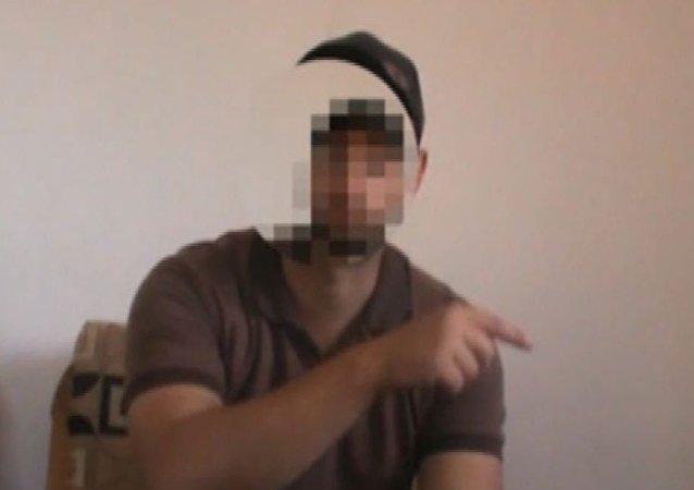 شاب هارب من سجن جيش الإسلام