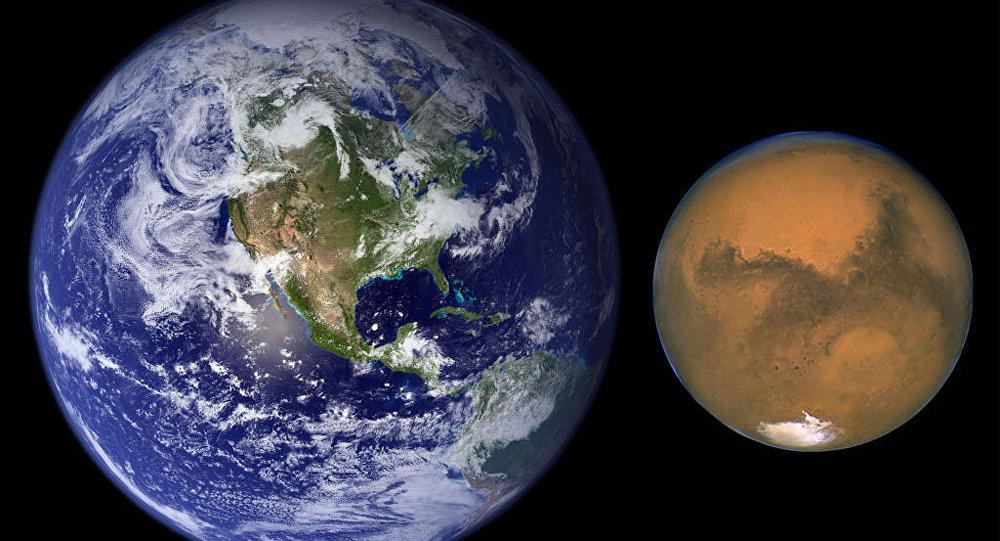 المريخ يقترب من الأرض