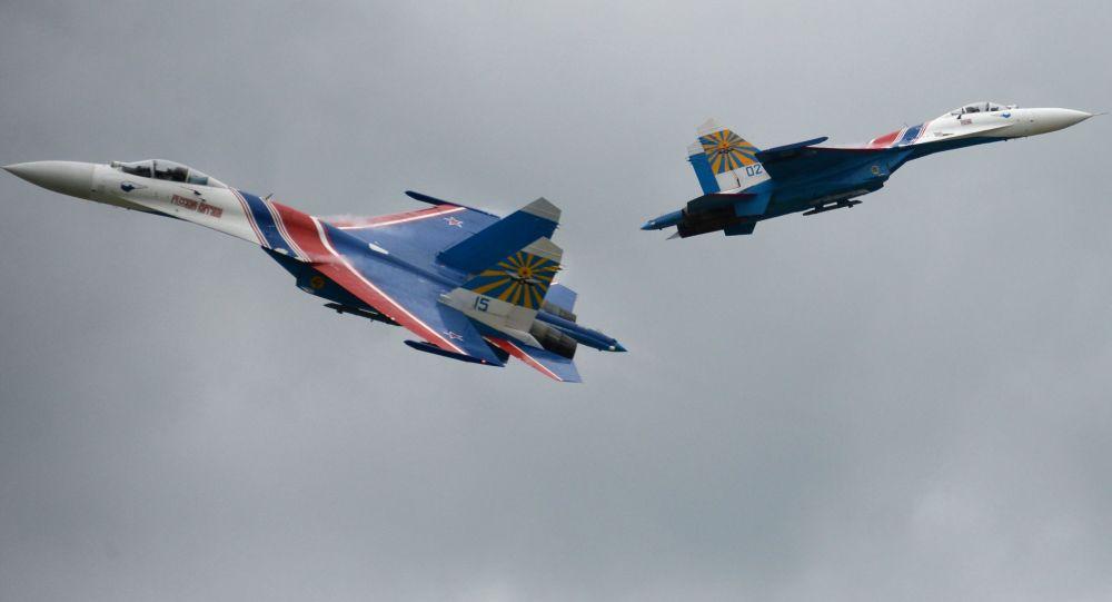 الطيارون الروس