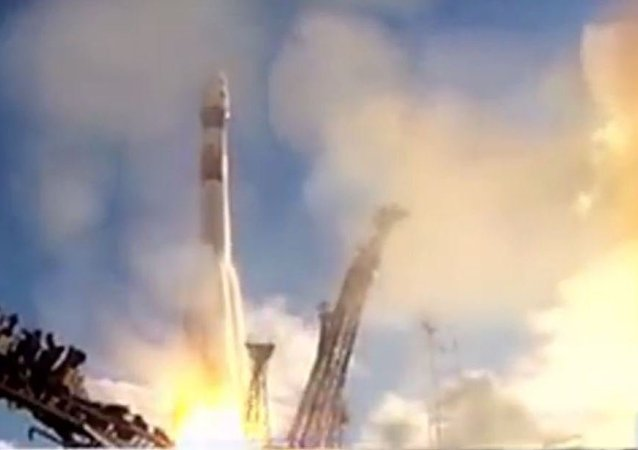 روسيا تطلق صاروخ فضائي جديد