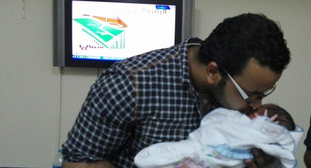 طفل مصري يحمل اسم بوتين