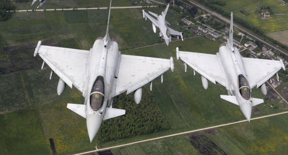 طائرات تابعة للناتو تحلق فوق منطقة البلطيق