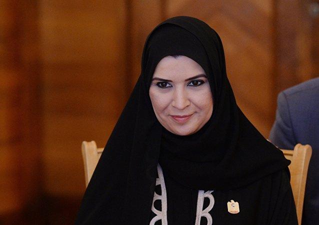 رئيسة المجلس الوطني الاتحادي للإمارات العربية المتحدة، أمل عبد الله القبيسي