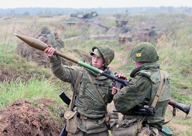 جنود الجيش الروسي