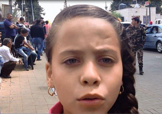 الصحفية الفلسطينية الصغيرة جنى جهاد التميمي