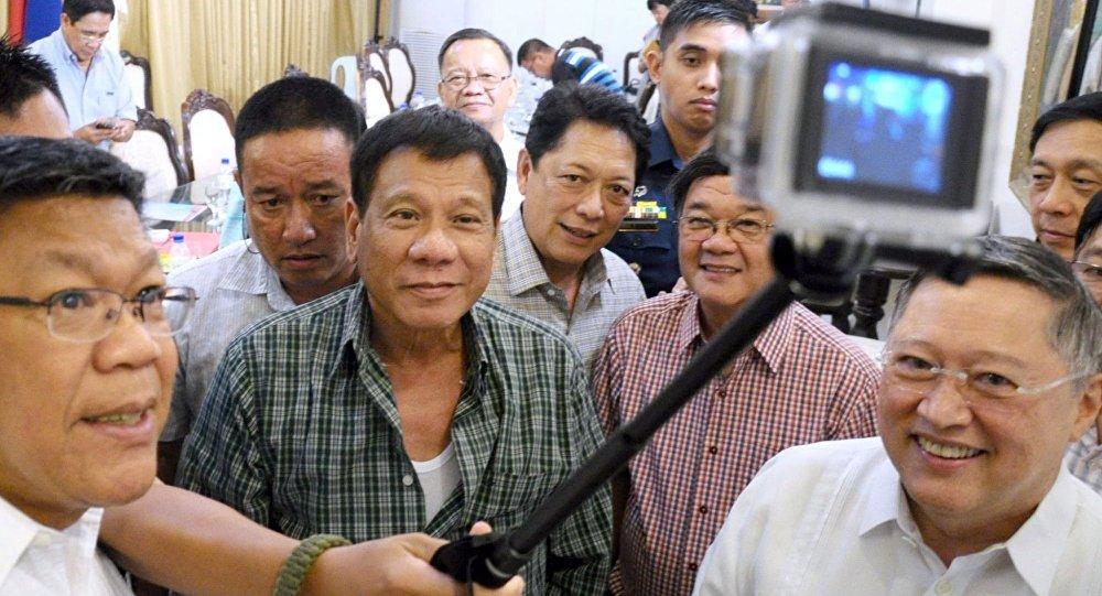 رئيس الفلبين المنتخب رودريغو دوتيرتي