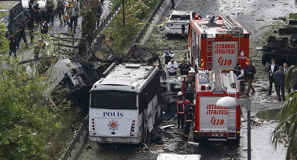 انفجار في وسط اسطنبول