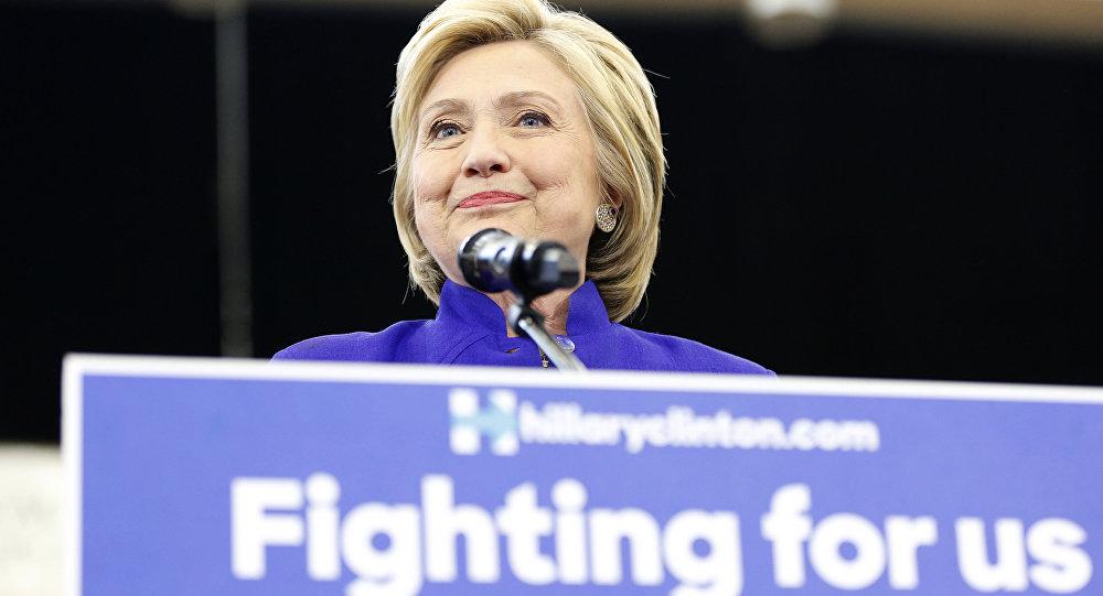 المرشحة للانتخابات الرئاسية هيلاري كلينتون