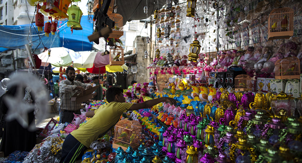 رمضان في فلسطين، غزة