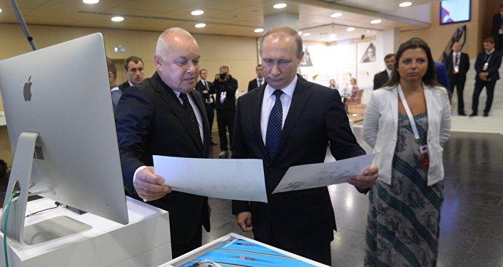 بوتين يزور وكالة إعلام روسيا سيغودنيا