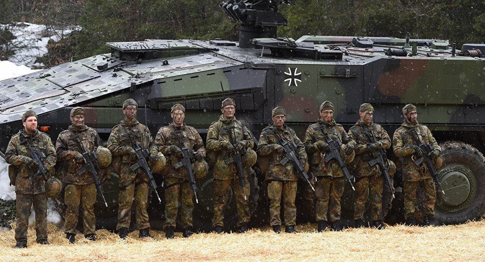 القوات الألمانية