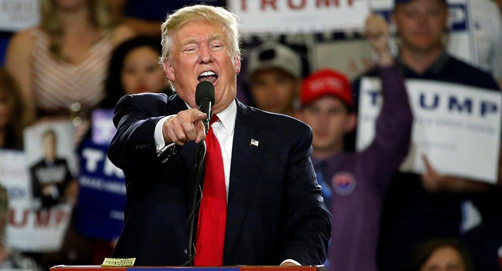 المرشح للرئاسة الأمريكية دونالد ترامب