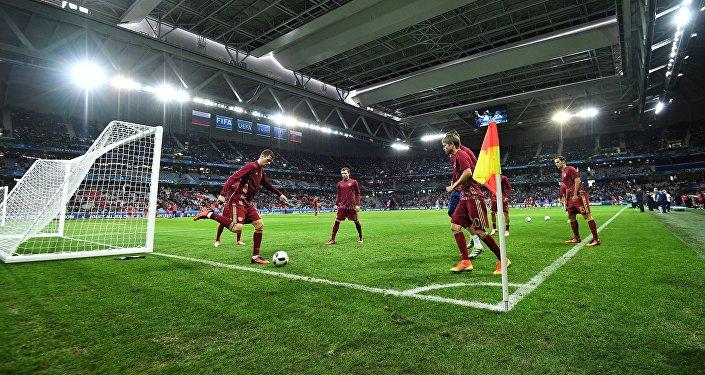 مباراة روسيا - سلوفاكيا