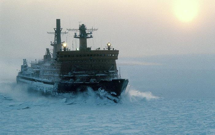 روسيا تدشن أقوى كاسحة جليد نووية
