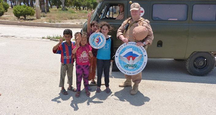 المساعدات الروسية تصل إلى كافة المناطق السورية