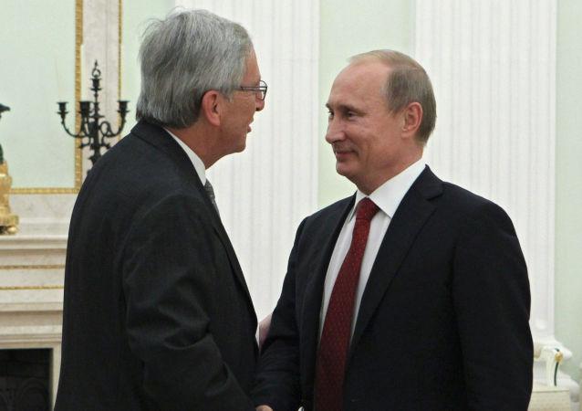 لقاء رئيس روسيا ورئيس المفوضية الأوروبية