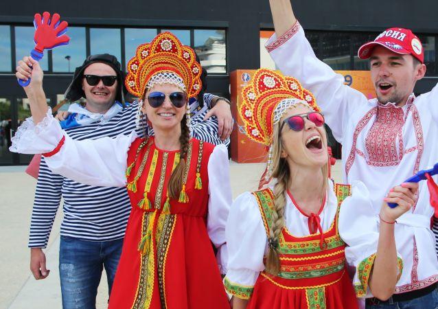 مشجعي روسيا في كأس أوروبا لكرة القدم يورو 2016