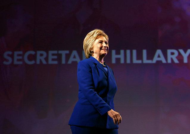 المرشحة للرئاسة عن الحزب الديموقراطي هيلاري كلينتون