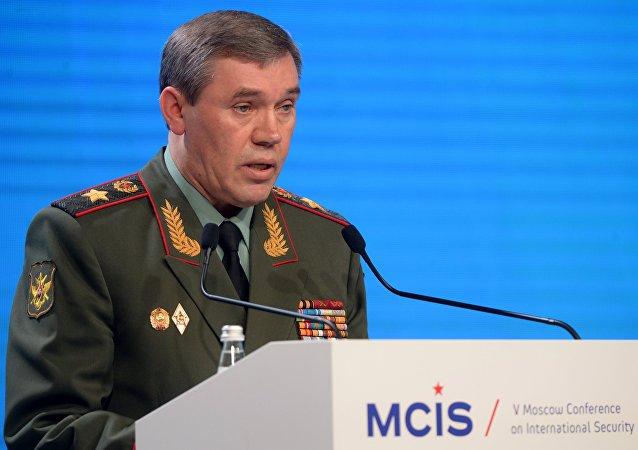 رئيس هيئة الأركان العامة الروسية فاليري غيراسيموف