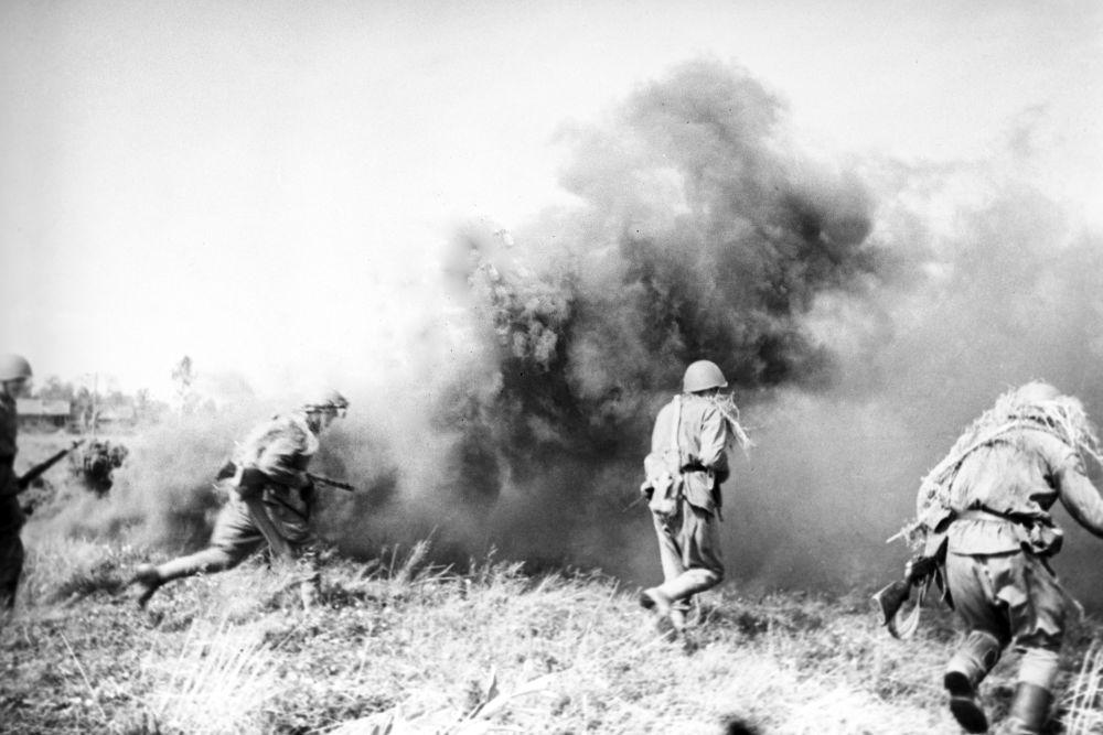 معارك في بيلاروسيا (روسيا البيضاء) عام 1941.
