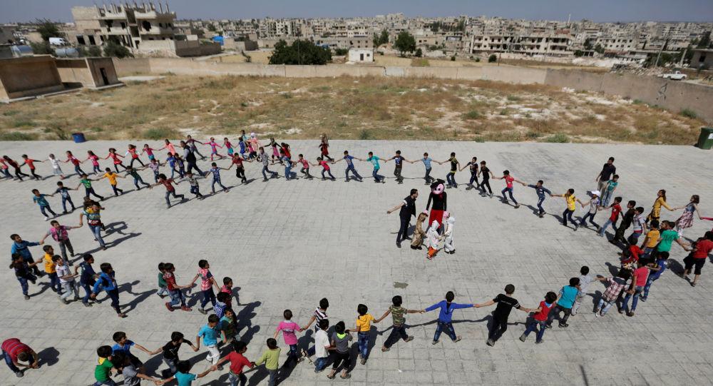 تلاميذ سوريا