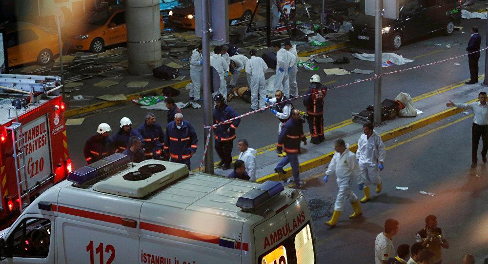 هجوم إرهابي على مطار اسطنبول في نركيا
