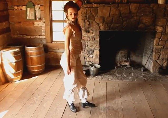 كيف ترقص الفتاة الايرلندية