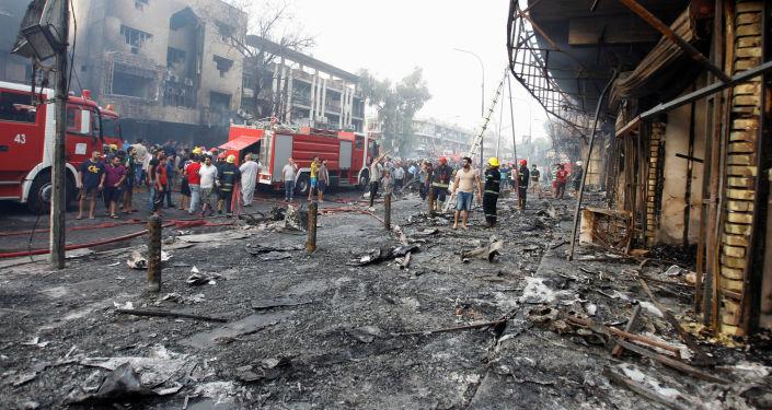 تفجير الكرادة في بغداد