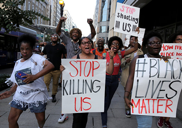 احتجاجات في نيويورك بالولايات المتحدة
