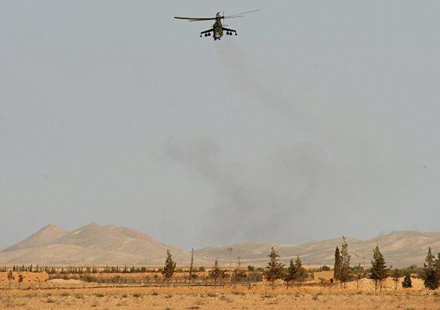 مروحية مي-24 في تدمر