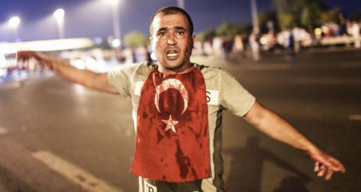 جريح في اسطنبول