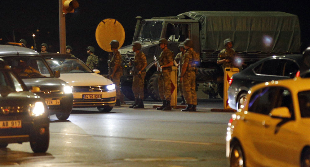 جنود أتراك في اسطنبول