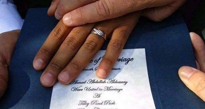 سعودي يتزوج أمريكي
