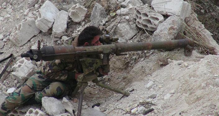 الجيش السوري في مدينة حلب
