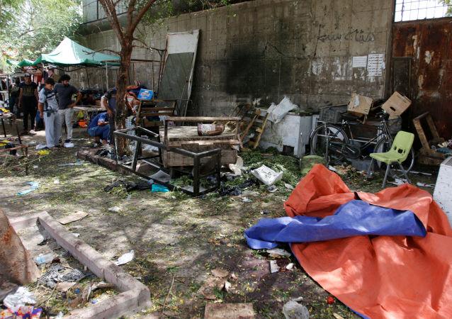 التفجير في بغداد - أرشيفية