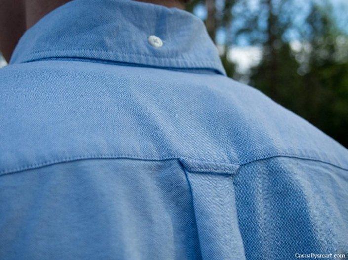 الحلقة المعلقة في الجزء الخلفي من قميصك