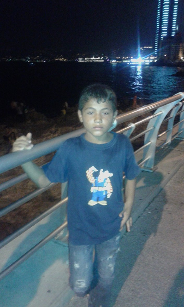 عبد الغانم ذو - لاجئ سوري في لبنان