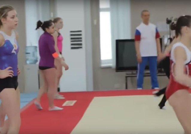تجهيزات الرياضيين الروس