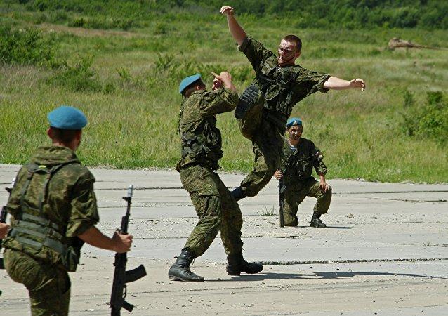 المسابقة الدولية فصيلة الجنود المظليين 2016