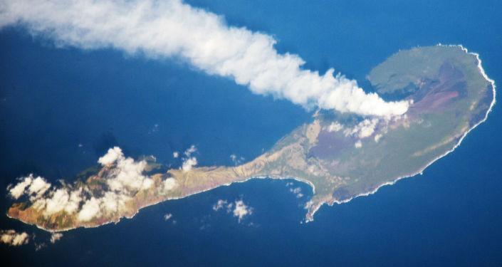 جزيرة في المحيط الهادئ