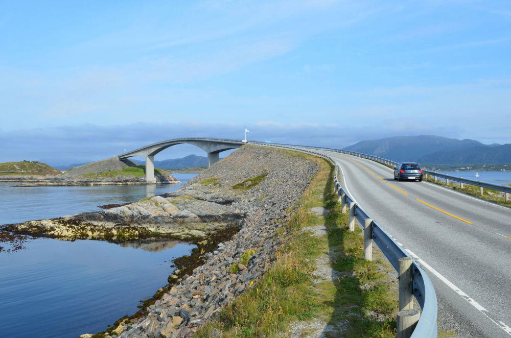 طريق المحيط الأطلسي أو الطريق الأطلسي إلى النرويج.