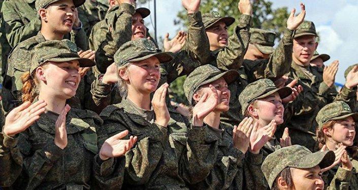 المجندات الروسيات