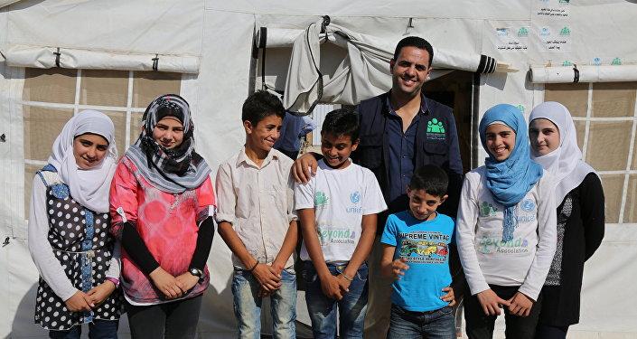 أطفال سوريا في لبنان صحافيو المستقبل