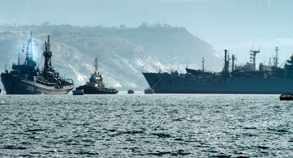 سفن للأسطول الروسي في البحر الأسود