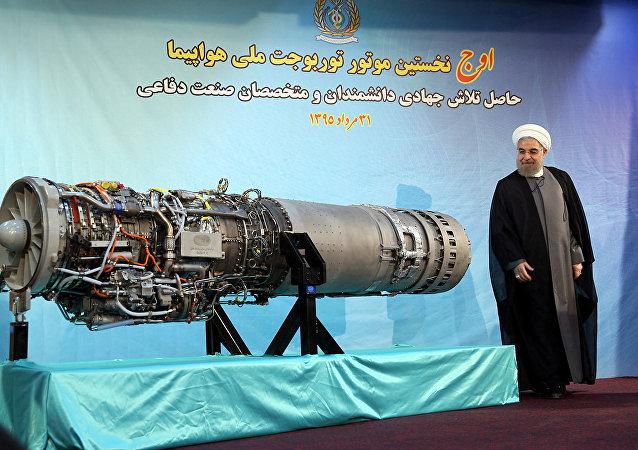 روحاني يستعرض المحرك الجديد
