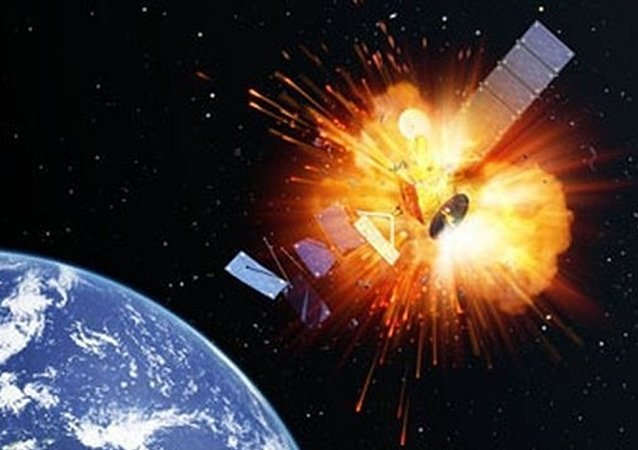 تدمير الأقمار الصناعية