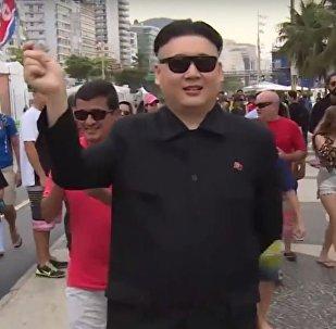 شبيه رئيس كوريا الشمالية