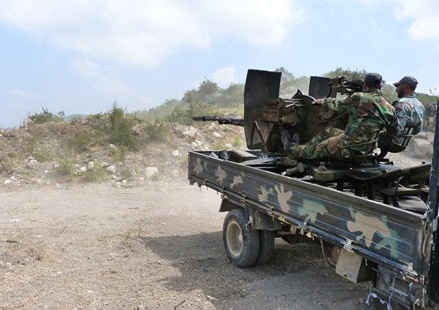 تقدم هام للجيش السوري جنوب غرب حلب بالقرب من الكليات العسكرية